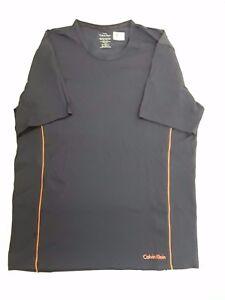 6bafdfabf Calvin Klein Men s T-Shirt Air FX Ck Short Sleeve Stretch Crew Neck ...