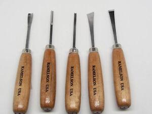 woodcarving gunsmith stock luthier craft hobby tool set ramelson usa 106 ebay. Black Bedroom Furniture Sets. Home Design Ideas
