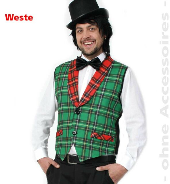Schotte grün komplett Gr 46-64 Kostüm Herren Fasching Karneval Herrenkostüm Neu