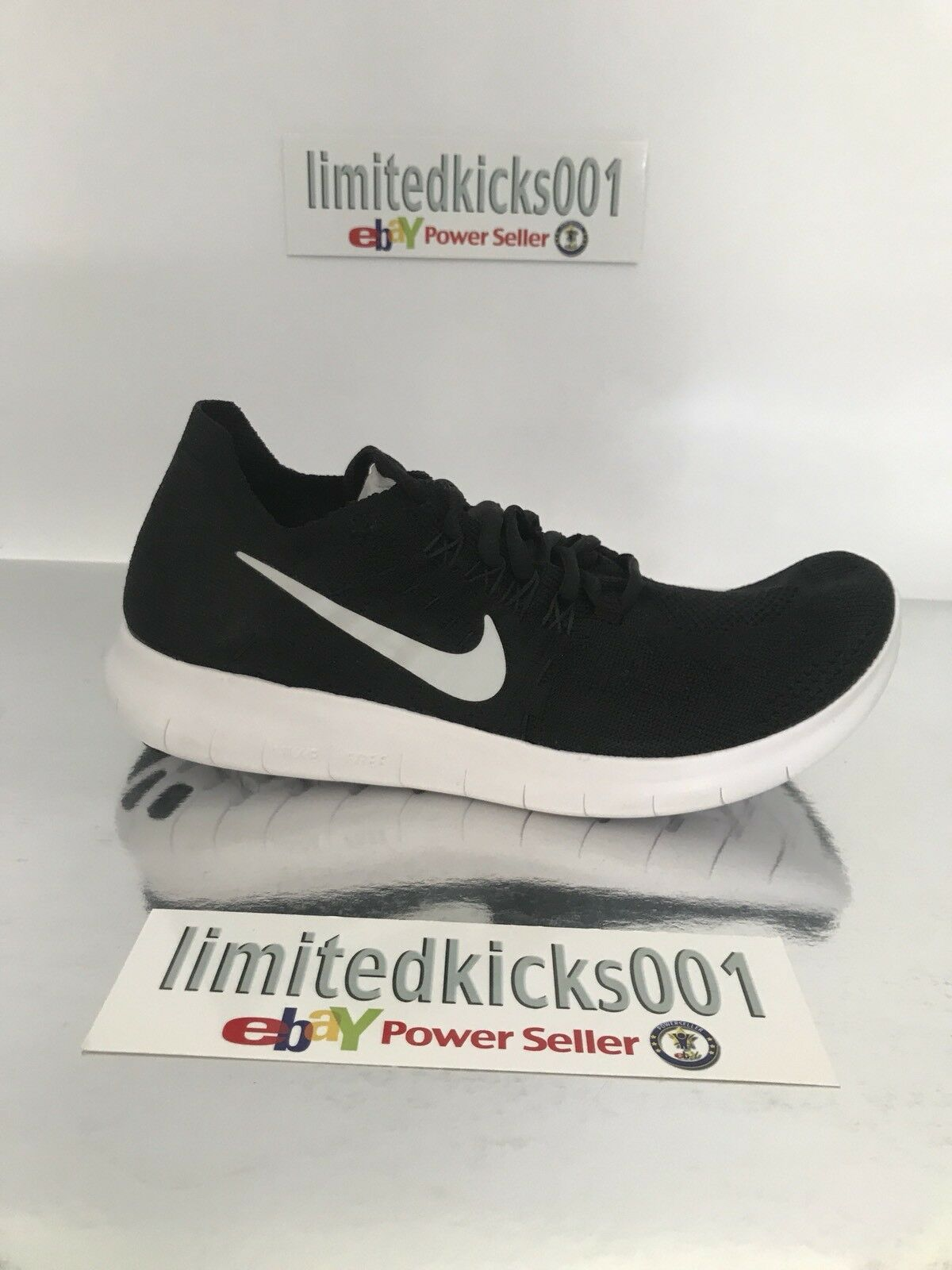 cheap for discount f6cb2 f9096 ... italy bnib nike free gym rn flyknit 2018 noir gym free femme  fonctionnement trainers chaussures sz
