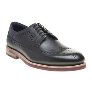 0176eb783 Image is loading New-MENS-TED-BAKER-BLACK-DEELANI-LEATHER-SHOES-