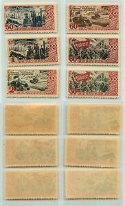 La-Russie-URSS-1947-SC-1183-1188-neuf-sans-charniere-rta7323