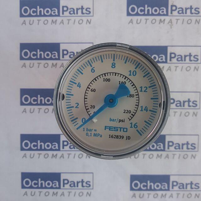 """0-16 bar 50 mm 1//4/"""" diameter pressure gauge 50mm 0-16 bar air. Pressure gauges"""