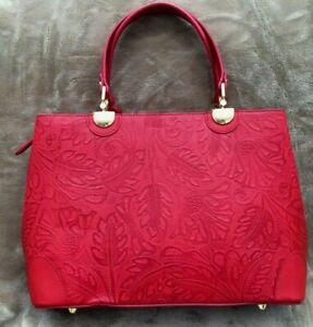 Red-Italian-Leather-Satchel