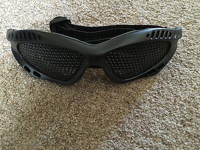 Cordiale Nuprol Pmc Mesh Occhiali Occhiali Protezione Nero Nuovo Di Zecca-mostra Il Titolo Originale Impermeabile, Resistente Agli Urti E Antimagnetico