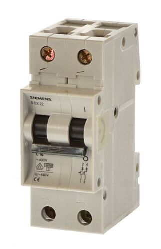 Siemens 5sx2220-7 c20 sauvegarde automate 2 broches