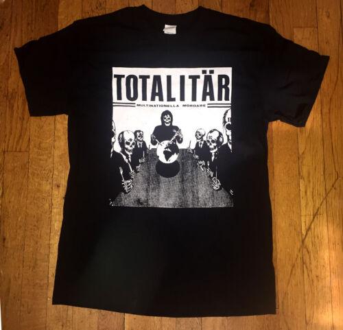 punk kbd Mob 47 skitslickers /'Multinationella Mördare/' T-Shirt Totalitar