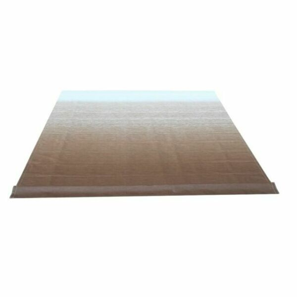 ALEKO 12X8 ft Vinyl RV Awning Fabric Replacement Brown ...