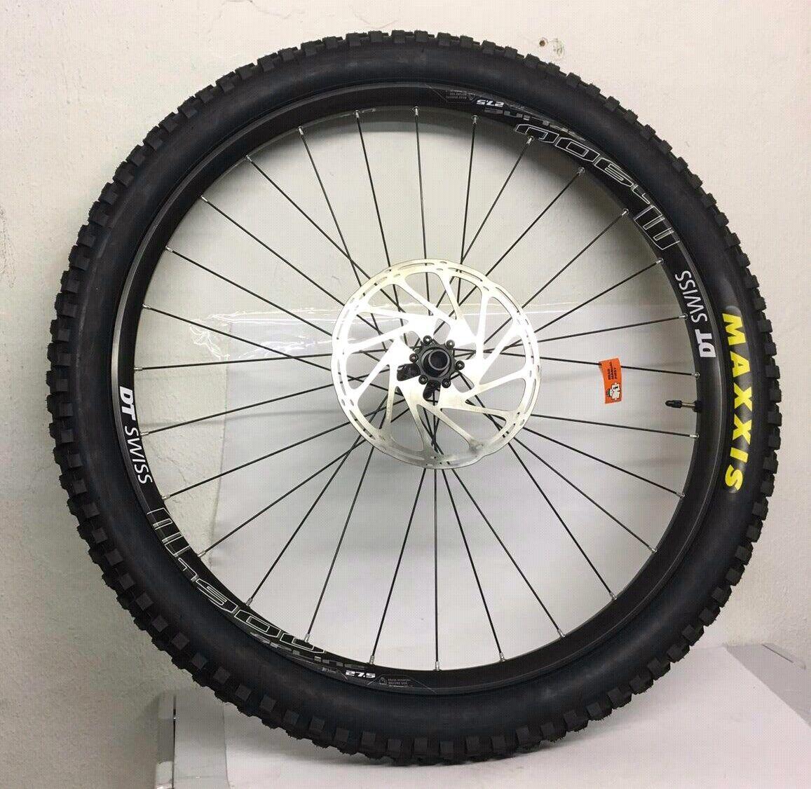 DT swiss M 1900 Spline 27,5  CL TA Shimano Wheel with Disc break and Maxxis tyer