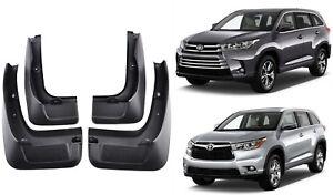 Set For Toyota Highlander Kluger 2014-2018 Mud Flap Flaps Splash Guards Mudflaps