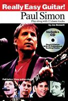 Paul Simon Really Easy Guitar Sheet Music Book And Cd 014026998