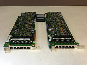 2x-DiaLogic-DMV160LP-16-Port-Combined-Media-Board-with-Connecting-Cable