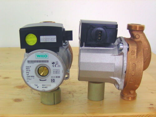 Pumpe Z20//1 Wilo Rotguss Zirkulation Brauchwasserpumpe Fußbodenheizung P13//43