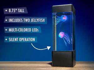 Jellyfish Tank Mood Light Aquarium Style Sensory Autism Lava Lamp