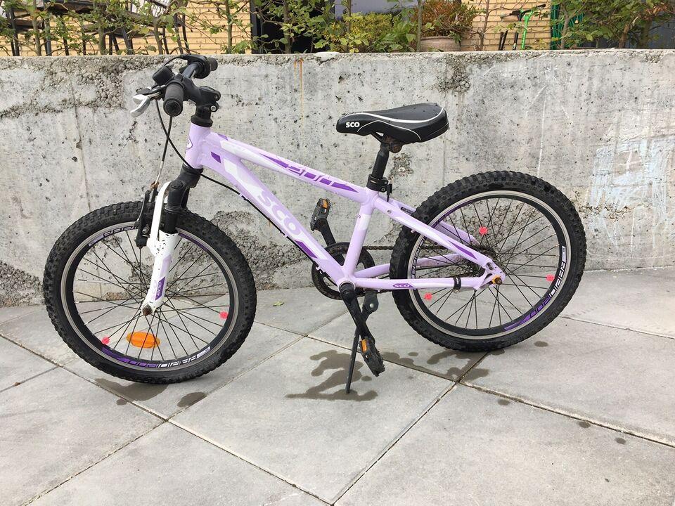Pigecykel, mountainbike, SCO
