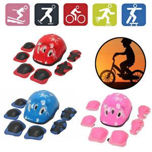 Kids Child Baby Toddler Safety Helmet Bike Bicycle Skate Board Scooter Sport Kit