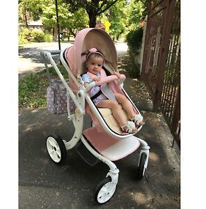 2019 Bébé Poussette 2 En 1 Haute Vue Pliable Transport Infant Voyage Poussette-afficher Le Titre D'origine ImperméAble à L'Eau, RéSistant Aux Chocs Et AntimagnéTique
