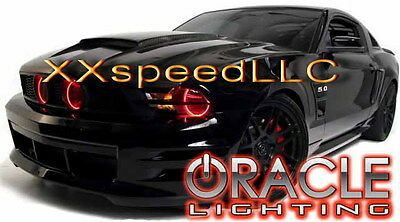 ORACLE Ford Mustang 2010-2012 RED LED Headlight Halo Angel Eyes Kit