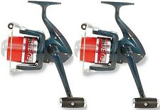 2 x DG SURF 6000 4BB spiaggia pesca Casting Reel e linea + Metal Spool