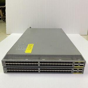 Cisco N6K-C6001-64P 48× 10G SFP+ & 4× 40G QSFP+ Switch W/ N6001-LAN1K9 License