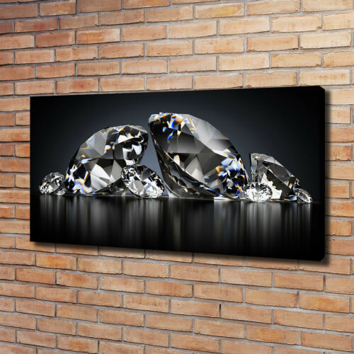 Leinwandbild Kunst-Druck 120x60 Bilder Sonstige Diamanten