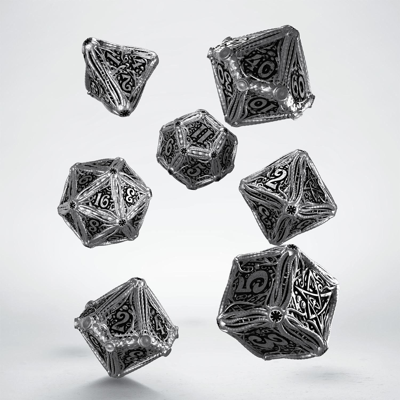 Metal Call of Cthulhu Dice Set  7