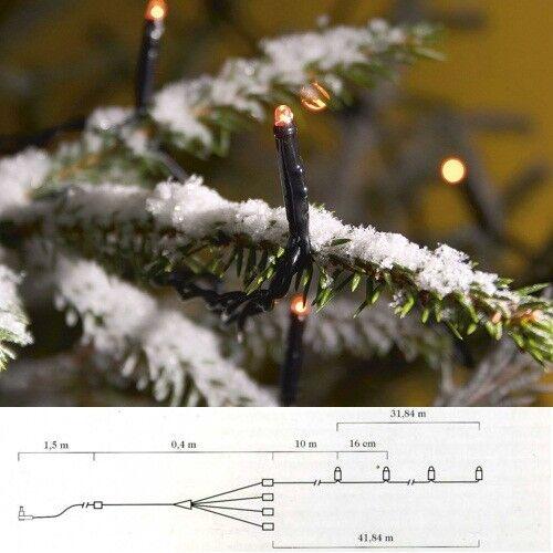 Micro LED Lichterkette 400er 2 x 31,84m 31,84m 31,84m Orange Start-Set  Ergänzungk. 3650-850  | Sale Online  1069ef