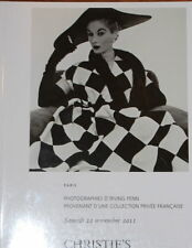 CHRISTIES PHOTOGRAPHS PARIS IRVING PENN COLLECTION 11/12/11 SALE CODE 1062