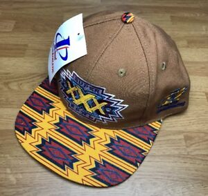 ... shop image is loading logo athletic snapback 1995 1996 vtg superbowl  xxx 1c3d7 67084 f9f0303a8