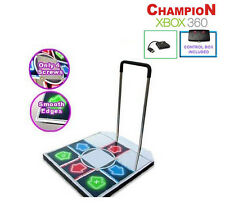 DDR Champion Arcade Metal Dance Pad w/ Handle Bar for PS / PS2 / Xbox 360