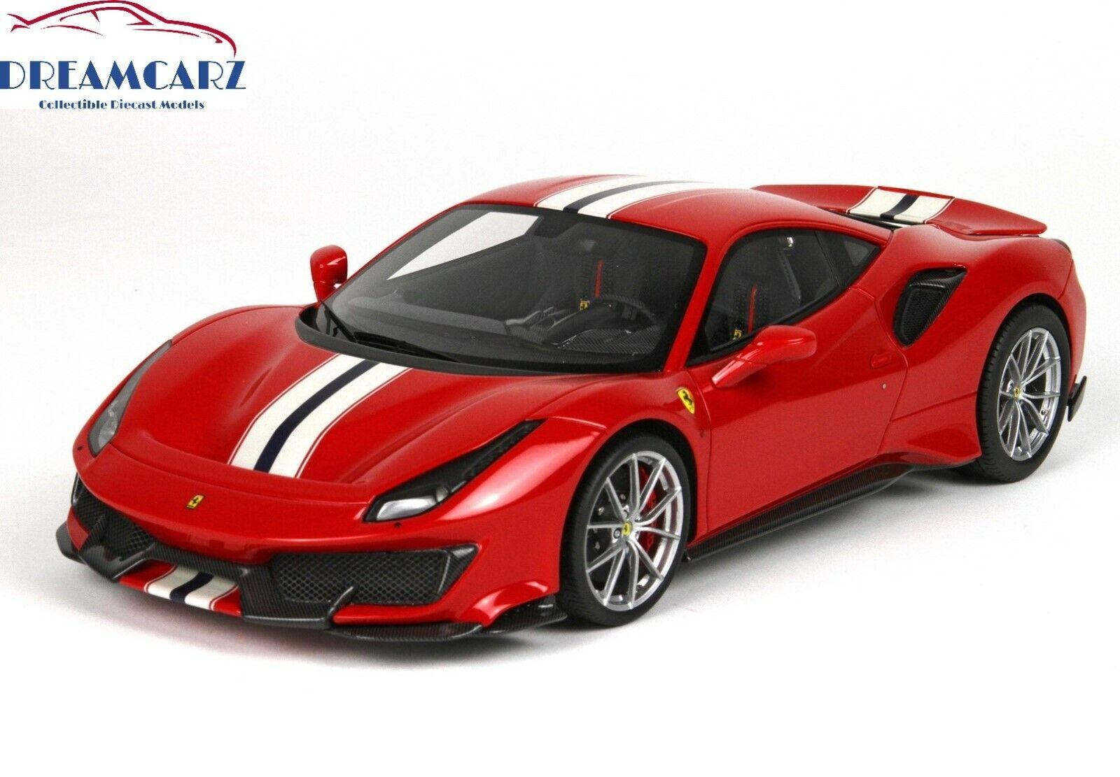 BBR P18145A 1 18 Ferrari 488 Pista 2018 Geneva Geneva Geneva Auto Show - Limited 488 pcs  90038b