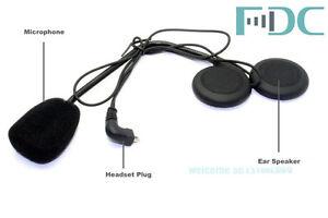 For-Motorbike-T-COM-Interphone-Intercom-1-Hard-Wire-Headset-1-Clip-Holder-Mount