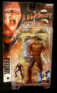 Mcfarlane Toys Maniaques de films Super Bloody Freddy Krueger Figurine Nouveau 1998 787926171013