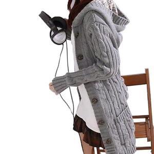 Women-039-s-Warm-Knit-Long-Sleeve-Hoodie-Cardigans-trench-Outwear-Sweater-Coat