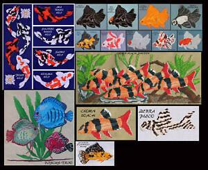 FRESHWATER-FISH-COUNTED-CROSS-STITCH-PATTERNS