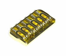 New Hipshot Fixed Bridge 6 String Gold 41100G .125 floor - Auth Dlr Fast Ship