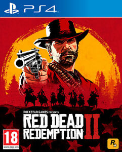 Red Dead Redemption II PS4 Playstation 4 ROCKSTAR GAMES