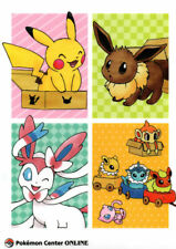 Pokemon Center Original Eevee Collection A4 Size Clear File Folder Sylveon