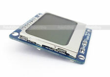1.6 compatible NOKIA 5110 GRAPHIC LCD 84X48 display board for arduino, PIC, AVR