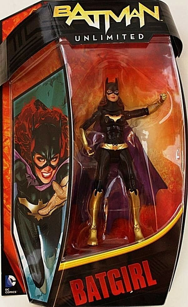 BATGIRL ( 6  ) VERY HARD TO FIND ( 2012 ) DC BATMAN UNLIMITED ACTION FIGURE