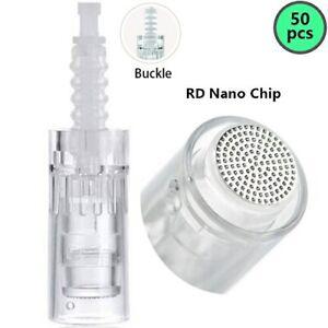 Details about 50PCS 9/12/36/42/Nano Needle Cartridges F Dr Pen DermaPen  Microneedling M5 M7 N2