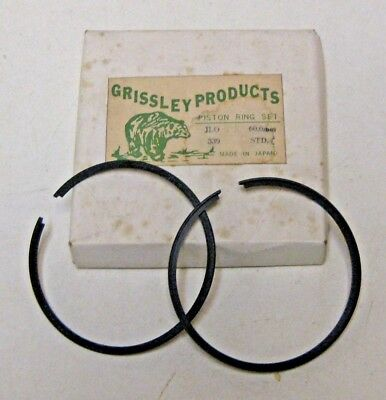 JLO LR440//2 PISTON RING SET GRISSLEY BRAND STANDARD BORE NEW OLD STOCK