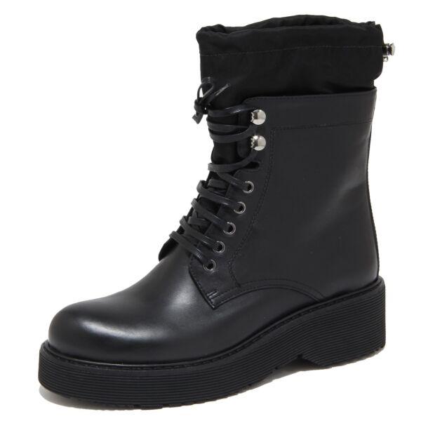 info for 8d7e9 1bddd 6633N stivale donna PRADA SPORT pelle nero shoes woman boots ...