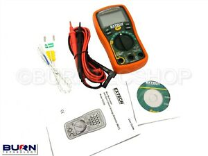 Extech-EX330-Autoranging-Voltage-Detector-Multimeter-12-Function-Non-Contact