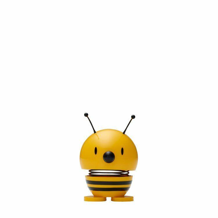 Hoptimist Bee Wackelfigur Wackel Figur Dekofigur Dekoidee Plastik Gelb Ø 5 cm