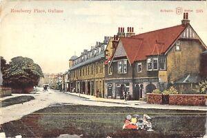 POSTCARD-SCOTLAND-GULLANE-Roseberry-Place-RP