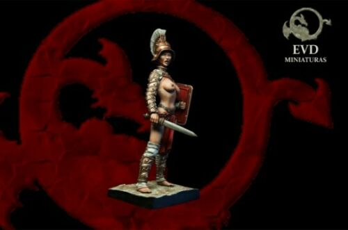 Gladiatrix 75mm 1 Figur El Viejo Dragon Miniaturas AS75.63