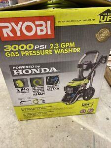 Ryobi Ry803001 Honda Gas Pressure Washer 3000 Psi 2 3 Gpm 46396019967 Ebay