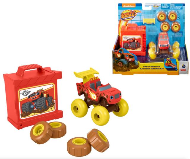 Blaze and the Monster Machines BLAZE Tune-Up Tires Tyres Playset Fisher-Price