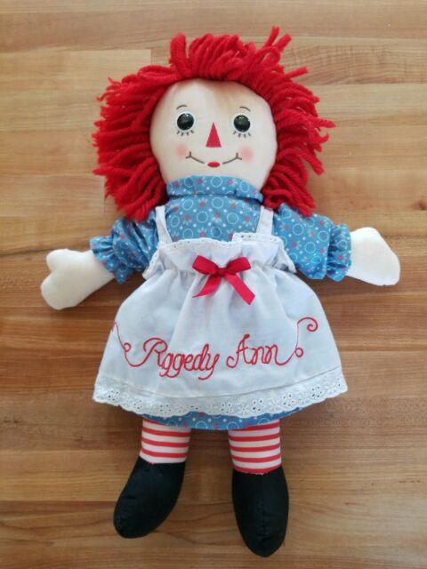 "Free Shipping Raggedy Ann Classic Doll 16/"" New"